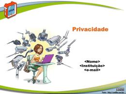 Fasciculo Privacidade - Cartilha de Segurança para Internet