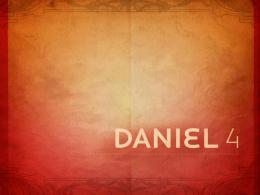 Daniel Capitulo 4