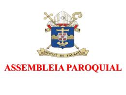 Apresentação do PowerPoint - DT7 Portal da Diocese de Taubaté