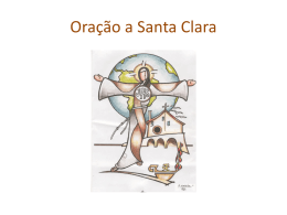 Oração a Santa Clara (*.pps)