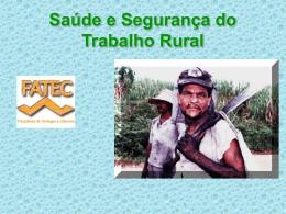 Saúde e Segurança do Trabalho Rural