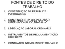 OS VÁRIOS TIPOS DE CONTRATO DE TRABALHO