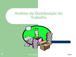 po-06 - análise da distribuição do trabalho