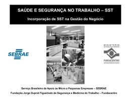 SST - Sebrae