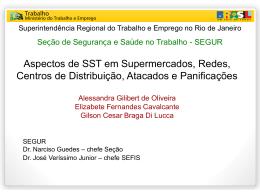 Apresentação SRTE - Ergonomia