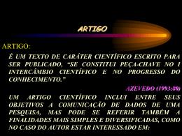 CONCEITOS DE TRABALHO DE CONCLUSÃO DE CURSO