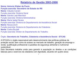 Antônio Kleber de Paula Secretário do Trabalho