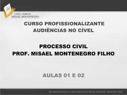 Slide 1 - Cursos Jurídicos Misael Montenegro