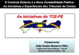João Eudes Bezerra Filho - ECG / TCE-RJ