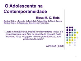Rosa Reis - Associação Brasileira de Psiquiatria