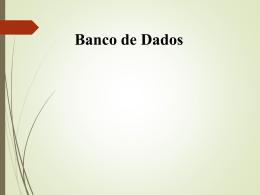 Banco de Dados - Comunidades.net