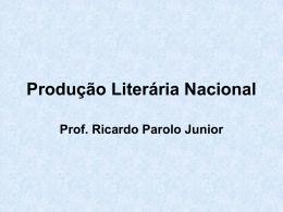 Produção Literária Nacional