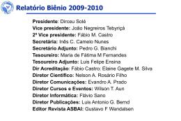 Slide 1 - ASBAI - Associação Brasileira de Alergia e Imunopatologia