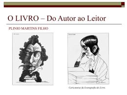 O LIVRO Do Autor ao Leitor
