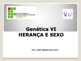 HERANÇA E SEXO