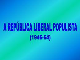 república populista profº renato