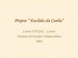 Projeto Euclides da Cunha