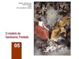 Aula 05. O Mistério da Santissima Trindade
