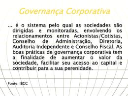 Governança Corporativa2006direito