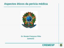 Aspectos eticos da pericia medica