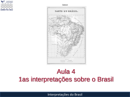Von Martius compara o Brasil?