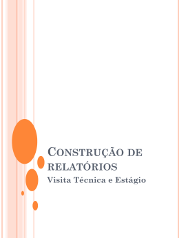 Aula Construção de Relatório