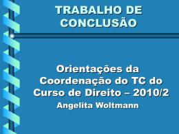TRABALHO DE CONCLUSÃO II