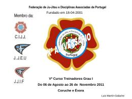 aprendizagem/treino - Federação de Ju