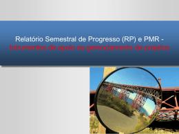 Orientações sobre o Relatório Semestral de Progresso