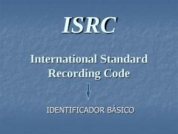 Slides ISRC