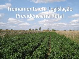 Produtor Rural - Senar-DF