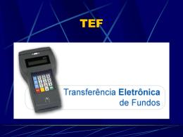 TEF - Secretaria de Estado da Tributação