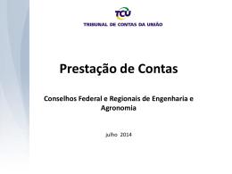2. Apresentação TCU - Prestação de Contas