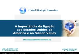 Qual a importância dos Estados Unidos da América e Silicon Valley?