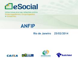 José Alberto Maia-2014.02.25 – Apresentação eSocial Anfip RJ