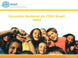 Apresentação CISV Brasil
