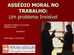 Apresentação Assédio Moral 2