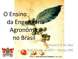 Eng. Agr. Francisco Ribeiro Vale