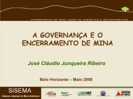 Aspectos Ambientais e Socioeconômicos (29/05/2008)