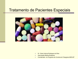 Tratamento de Pacientes Especiais