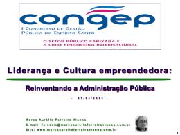 Liderança e Cultura empreendedora