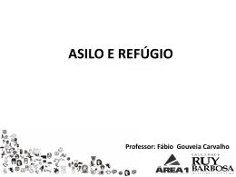 asilo territorial - Ferreira e Carvalho Advogados