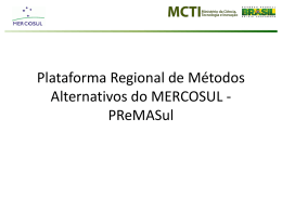 Plataforma Regional de Métodos Alternativos do