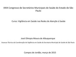José Olimpio - Vigilancia