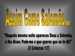 Assim Como Salomão