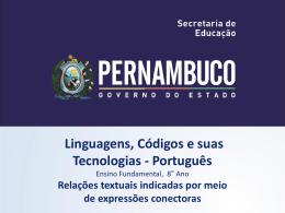 Língua Portuguesa, 8º Ano do Ensino Fundamental