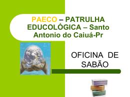PAECO – PATRULHA ECOLÓGICA