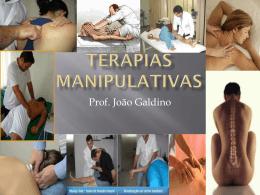 Terapias Manipulativas - Universidade Castelo Branco