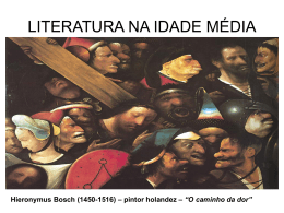 Idade Media e Humanismo