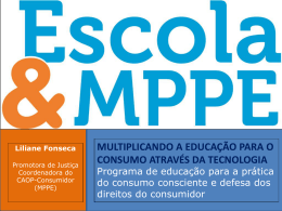 CAOP-Consumidor/MPPE
